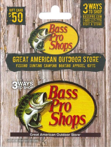 Where can you buy a Bass Pro gift card?